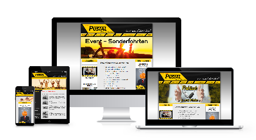 Layout, Responsive Design, CMS, Grafikerstellung